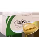 GENÉRICO CIALIS Tadalafilo 20 mg foto