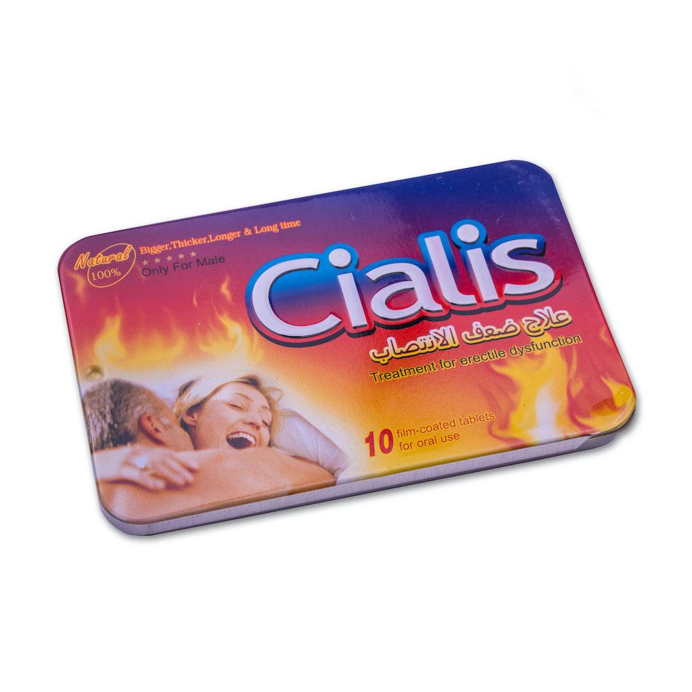 en la foto: envase de cialis 5 mg