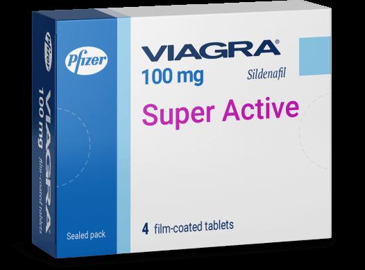 En la imagen - empaquetado de Viagra Viagra Super Active (sildenafil)